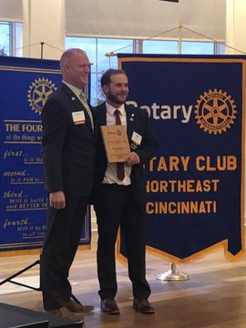 Brad Williams Awarded Rotary Eductator of the Year