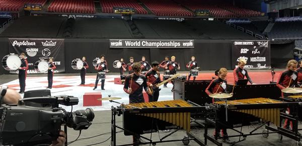 Sycamore Winter Drumline Named World Championship Finalists