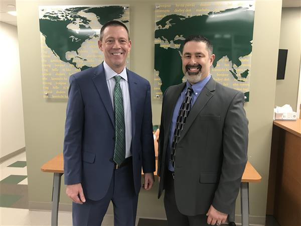 Andy King, new assistant principal of Sycamore Junior High