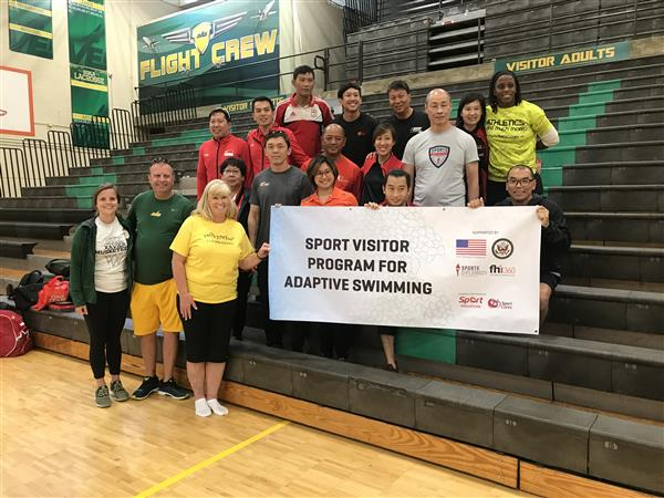 Singapore Delegation Visits Sycamore High School