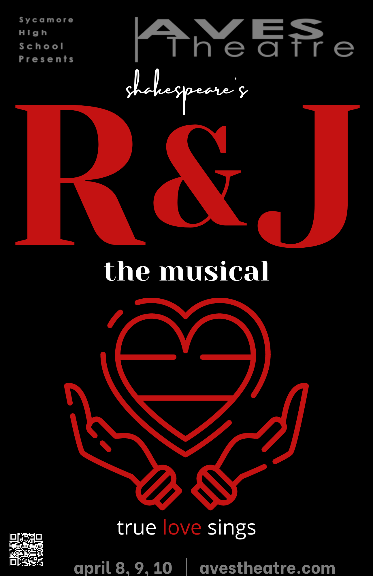 Sycamore Aves Theatre Presents: R&J The Musical