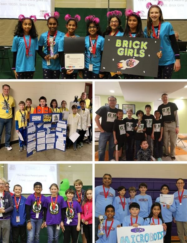 Lego League Teams