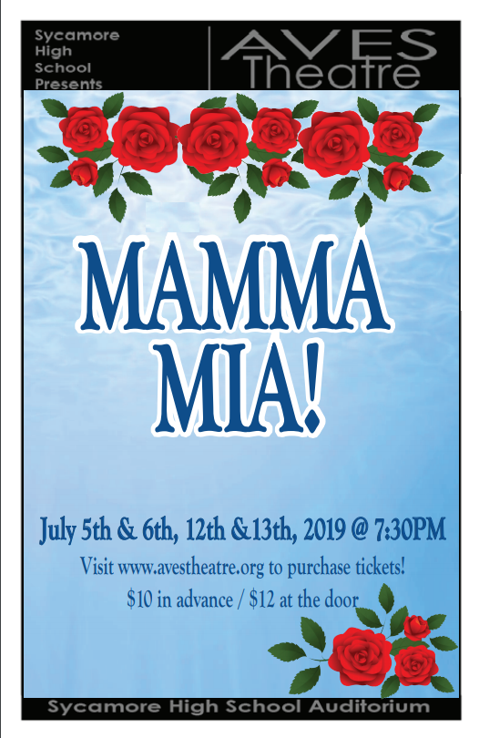 "Aves Summer Theatre Presents: ""Mamma Mia!"""