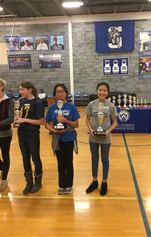 Seventh grader Kathryn Guo won 1st place out of 109 writers