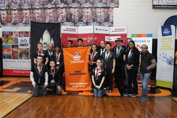 Powerstackers Team wins Inspire Award