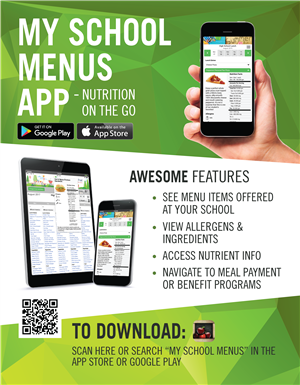 new mobile menu app