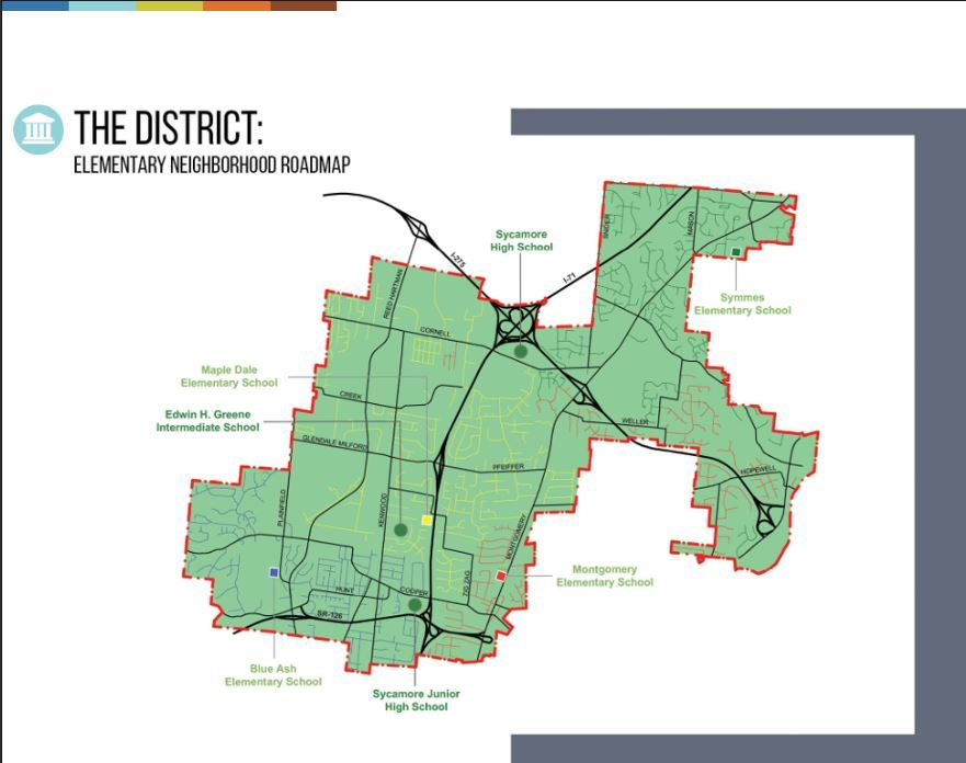 Transportation / District Map on