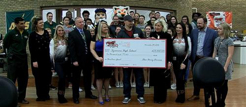 Fuel Up To Play 60 Grant Check